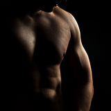 Naked torso of the man Royalty Free Stock Images