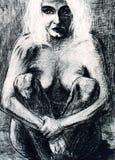 Naked woman Royalty Free Stock Image