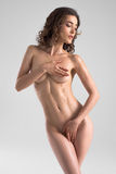 Naked Woman Posing Stock Image