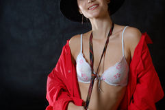 naken stranger arkivfoto