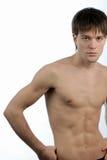 naken torso för man Royaltyfria Bilder