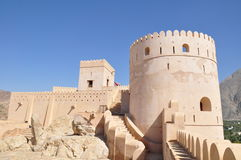Nakhal Castle. Near Muscat in Oman Royalty Free Stock Photography