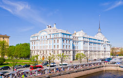 The Nakhimov Naval Academy in Saint Petersburg, Russia Royalty Free Stock Image