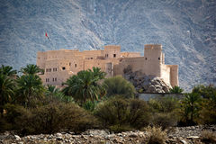 The Nakhl Fort in Al Batinah Royalty Free Stock Photos