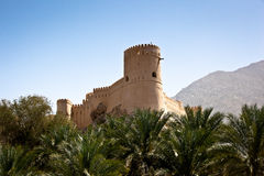 The Nakhl Fort in Al Batinah Stock Images