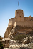 The Nakhl Fort in Al Batinah Royalty Free Stock Photography