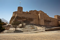 The Nakhl Fort in Al Batinah Stock Photo