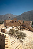 The Nakhl Fort in Al Batinah Royalty Free Stock Photo