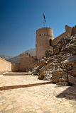 The Nakhl Fort in Al Batinah Royalty Free Stock Images