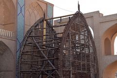 Nakhl w Yazd obraz stock