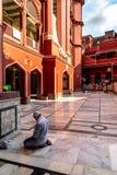 Nakhoda Masjid, die Hauptmoschee von Kolkata lizenzfreie stockbilder