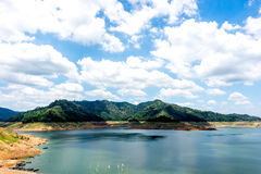 Nakhon Nayok (Khun丹Prakan Chon水坝)泰国2015年 免版税库存照片