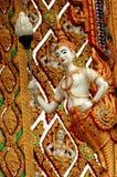 Nakhon Pathom, Thailand: Aponsi på Wat Dai Lom Arkivbild