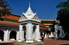 Nakhon, Pathom, Thailand: Belfry at Thai Temple Stock Image