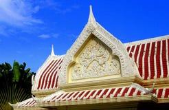 Nakhon Pathom Thailand: Wat Phra Pathom Chedi Arkivbilder
