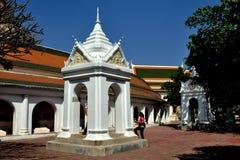 Nakhon Pathom, Thailand: Wat Phra Pathom Chedi Stock Photos