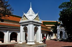 Nakhon Pathom, Thailand: Wat Phra Pathom Chedi's Sala Stock Photography