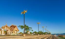 Nakhon Phanom, Таиланд, 21-ое ноября 2015: Висок вызвал Wa Стоковые Фотографии RF