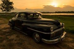 Nakhon Ratchasima, ΤΑΪΛΑΝΔΗ - 13 Ιουνίου: Το εκλεκτής ποιότητας αυτοκίνητο Desoto είναι α Στοκ φωτογραφίες με δικαίωμα ελεύθερης χρήσης