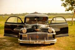 Nakhon Ratchasima, ΤΑΪΛΑΝΔΗ - 13 Ιουνίου: Το εκλεκτής ποιότητας αυτοκίνητο Desoto είναι α Στοκ Φωτογραφίες