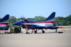 NAKHON RATCHASIMA 27 LISTOPAD: Pokaz aerobatics dzielący Obrazy Royalty Free