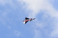 NAKHON RATCHASIMA 27 NOVEMBER :The display of aerobatics shared Royalty Free Stock Photos