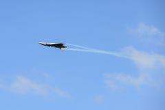 NAKHON RATCHASIMA 27 NOVEMBRE : L'affichage des acrobaties aériennes partagées Images stock