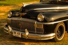 Nakhon Ratchasima, TAILÂNDIA - 13 de junho: O carro Desoto do vintage é a Imagem de Stock