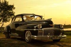 Nakhon Ratchasima, TAILÂNDIA - 13 de junho: O carro Desoto do vintage é a Fotos de Stock Royalty Free