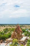 Nakhon Ratchasima Tailândia Wat Banrai imagem de stock