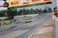 Carreras de coches en Tailandia Imagenes de archivo