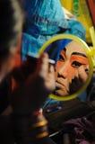 Nakhon Ratchasima TAJLANDIA, Październik, - 10: Niezidentyfikowani actres Zdjęcie Stock