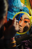 Nakhon Ratchasima, THAÏLANDE - 10 octobre : Actres non identifiés Photo stock