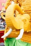 NAKHON RATCHASIMA, THAILAND - 11. JULI: Die traditionelle Kerze p Lizenzfreie Stockbilder