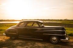 Nakhon Ratchasima, THAILAND - JUNE 13 : Desoto retro vintage car Royalty Free Stock Photography