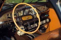Nakhon Ratchasima, THAILAND - JUNE 13 : Desoto vintage car model Stock Photo
