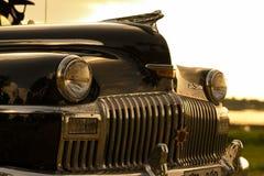 Nakhon Ratchasima, THAILAND - JUNI 13: De uitstekende auto Desoto is a Stock Afbeeldingen