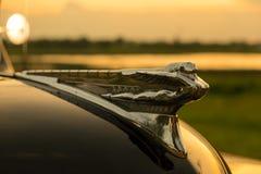 Nakhon Ratchasima, THAILAND - JUNI 13: De uitstekende auto Desoto is a Stock Fotografie