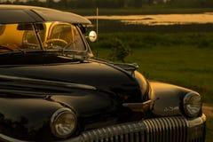 Nakhon Ratchasima, THAILAND - JUNI 13: De uitstekende auto Desoto is a Royalty-vrije Stock Foto's