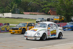 Car racing in Thailand Royalty Free Stock Image