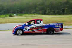 Car racing in Thailand Stock Photography