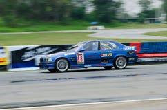 Car racing in Thailand Royalty Free Stock Photos