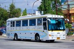 Nakhonchai没有航空公司的公共汽车 18-139 免版税库存照片