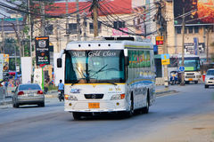Nakhonchai没有航空公司的公共汽车 18-176 库存照片