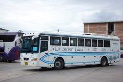 Nakhonchai空气公共汽车  路线曼谷和Nakhonpanom 库存图片