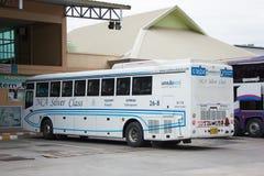Nakhonchai空气公共汽车  路线曼谷和Nakhonpanom 免版税库存图片