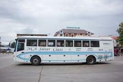 Nakhonchai空气公共汽车  路线曼谷和Nakhonpanom 免版税库存照片