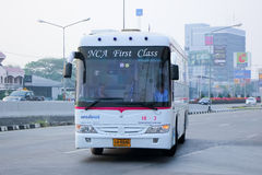 Nakhonchai air company bus no.18-2 Stock Image