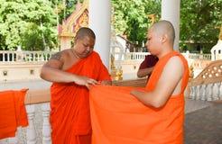 Nakhonnayok-Таиланд, 3-ье июля 2015: серия посвящения cer стоковые фотографии rf
