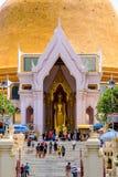 NAKHONPATHOM, TAILANDIA, el 24 de septiembre de 2017, Wat Phra Pathom Chedi Sanc fotografía de archivo libre de regalías